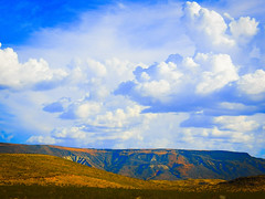 Peace & Beauty here in AZ (In my Youth) Tags: arizona landscape clouds sky beauty creation
