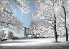 Castle View (Glenn D Reay) Tags: lumleycastle castle chesterlestreet infrared infrared720nm 720nm trees olympusep1 olympus zuiko1442ii glennreay