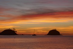 Nacpan Beach (Color-de-la-vida) Tags: philippines filipinas sunset palawan elnido nacpanbeach