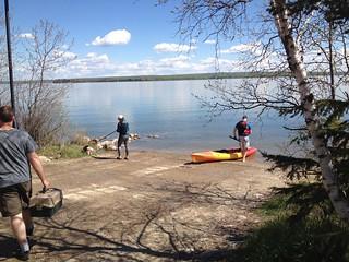 Cold Lake - Cold Lake Provinicia Park - boat launch