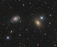 NGC 5363/5364 - A lesser seen pair (Paddy Gilliland @ Image The Universe) Tags: ngc5363 ngc 5364 galaxy galaxies ic space nebula nebulae stars night astro astronomy astrophoto astrophotography ap narrowband hubble cosmos texture abstract outdoor wide widefield nighttime sky dark colours science