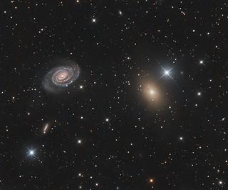 NGC 5363/5364 - A lesser seen pair
