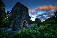 Controling Fire (Mstraite) Tags: furnace industry history historical sunset clous flower dark mideval tower stone canon blend