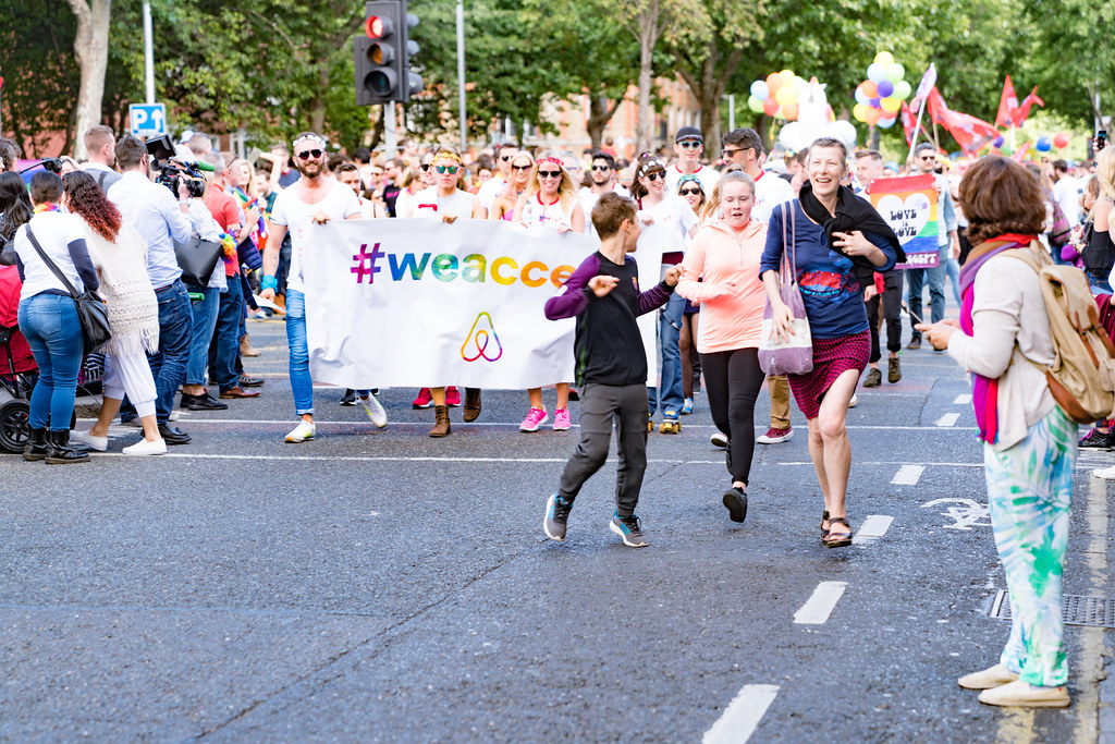 LGBTQ+ PRIDE PARADE 2017 [ON THE WAY FROM STEPHENS GREEN TO SMITHFIELD]-129986