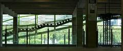 Gradual staircase - Building facing the Seine, Paris (Monceau) Tags: gradual staircase silhouette seine building