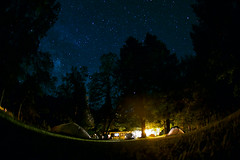 Under the stars in Sweetbrier (gcquinn) Tags: 1gq1549a geoff geoffrey quinn sweetbrier dunsmuir upper sacramentoriver fly fishing coogan