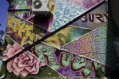 Layers (aerojad) Tags: eos canon 80d dslr 2017 city urban art artinpublicplaces streetart publicart mural murals graffiti vacation travel wanderlust graffitialley toronto canada vibrant colorful