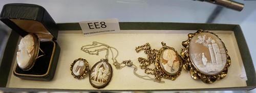 Antique Cameo Jewelry ($246.40)