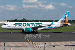 Frontier Airlines Airbus A320-251N - N307FR (AeroPX) Tags: ewingtownship newjersey unitedstates us aeropx airbusa320 airbusa320neo caryliao champthebronco ewing frontierairlines kttn n307fr nj ttn trentonmercercountyairport