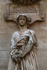 Cimarosa's Muse (Zabowski) Tags: paris france opera operahouse palaisgarnier cimarosa domenicocimarosa composer muse statue