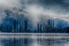 Morning mist (Theresa Hall (teniche)) Tags: australia canberra lakeburleygriffin mountainslie nikon nikond750 tamrom tamron70200 teniche theresahall fog foreshore lake landscape mist morning morningexercise morningmist water