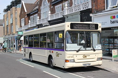 Easy Access Tennis ( 2 ) . (AndrewHA's) Tags: london general goahead commercial services dennis dart slf plaxton pointer 2 ldp 183 y983tgh route 839 wimbledon tennis championships southfields station disabled limited mobility access
