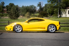 360 (Hunter J. G. Frim Photography) Tags: supercar colorado ferrari 360 modena yellow v8 italian ferrari360 ferrari360modena giallo giallomodena