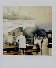Smoke over Cevapcici (alois_roehrl) Tags: ingolstadt bürgeerfest 2017 instax instaxsquare fuji sofortbild instant people leute stadt city germany bavaria