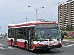 Toronto Transit Commission 8626 (YT   transport photography) Tags: ttc toronto transit commission nova bus lfs