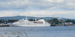 """Star Pride"" Cruise Ship from Balblair, Black Isle, 4th July 2017 (allanmaciver) Tags: star pride cruise ship invergordon balblair white style class small vessel smoke rising grey clouds warm dry weather scotland black isle cromarty firth allanmaciver"