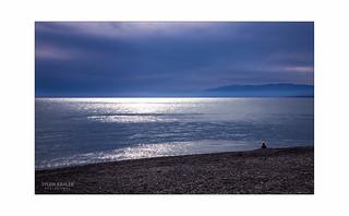 Das Glitzern des Meeres ....