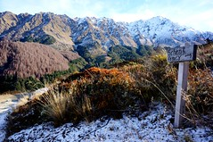 I will hike all the mountains:)))) (Zelos't) Tags: queenstown newzeland benlomond hiking colours nature mountains