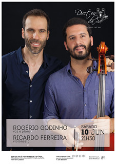 CONCERTO - Duetos da Sé - ALFAMA - LISBOA - SÁBADO 10 DE JUNHO 2017 - 21h30 - Rogério Godinho - Ricardo Ferreira