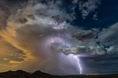 Broken Bow (NicLeister) Tags: arizona thunderstorm lightning bolt monsoon alpha a99 desert landscape night nature rain weather clouds july outdoors sony southwest sonoran sky summer stormscape thunder view