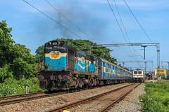On a bright sunny day (Akhil Sanjeev) Tags: indianrailways rail railroad alleppey