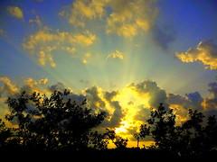New York Sunset (dimaruss34) Tags: newyork brooklyn dmitriyfomenko image sky clouds sunrays sunset