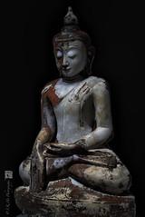 Seated Buddha with Bhumisparsa Mudra hand gesture (SKHO ) Tags: stilllife sculpture religioussculpture religious statue buddhism buddha seatedbuddha bhumisparsamudra handgesture bhumisparsa mudra pcemicronikkor45mmf28ded nikond700 d700 nikon 攝影發燒友