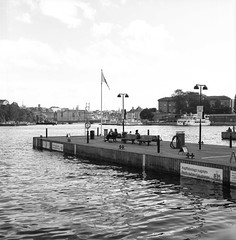 Stockhom Strandvägen Hasselblad (CourtLux) Tags: rolleirpx25 sweden hasselblad stockholm strandvägen
