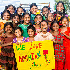 Photo of the Day (Peace Gospel) Tags: groupshot outdoor children girls orphans smiles smiling smile happy happiness joy joyful peace peaceful hope hopeful thankful grateful gratitude love loved amazon empowerment empowered empower