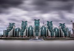 st George Wharf (Glenn 07) Tags: london vauxhallbridge stgeorgewharf long exposure cloudporn