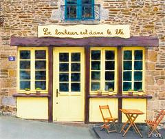 Le Bonheur (sbox) Tags: textures painterly drawing sketch france fougères brittany bretagne restaurant building architecture declanod sbox