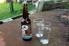 """Manus beer """"at every party"""" (Davydutchy) Tags: bier beer birra bière pivo пиво øl sör cerveza olut cervisiam biero μπύρα piwo dutch holland mini micro brewery brouwerij brauerei piwowar sládek cervecero manus dampegheest limmen glas glazen glês glass verre netherlands niederlande paysbas july 2017"""