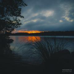 In the shades (>>Marko<<) Tags: finland kangasniemi suomi aamu auringonnousu luonto sunrise shade shadow square nature lake water cloud waterfront ranta