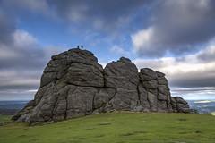 Atop Haytor (NYRBlue94) Tags: haytor hay tor england uk landscape rock granite dartmoor park devon view tall