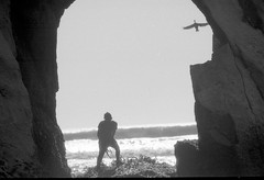 O))))17 (gustavo coronado) Tags: film 35mm fujineopanss blackandwhite blancoynegro cheapscan nikonf100 chile loberia carahue oceanopacifico cochayuyo lafkenmapu
