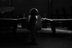 - Old lines - (Tom Findahl) Tags: airplane fuji gw690 monochrome rich blacks vampire