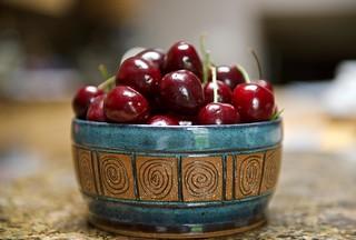 Fresh bowl of Cherries!