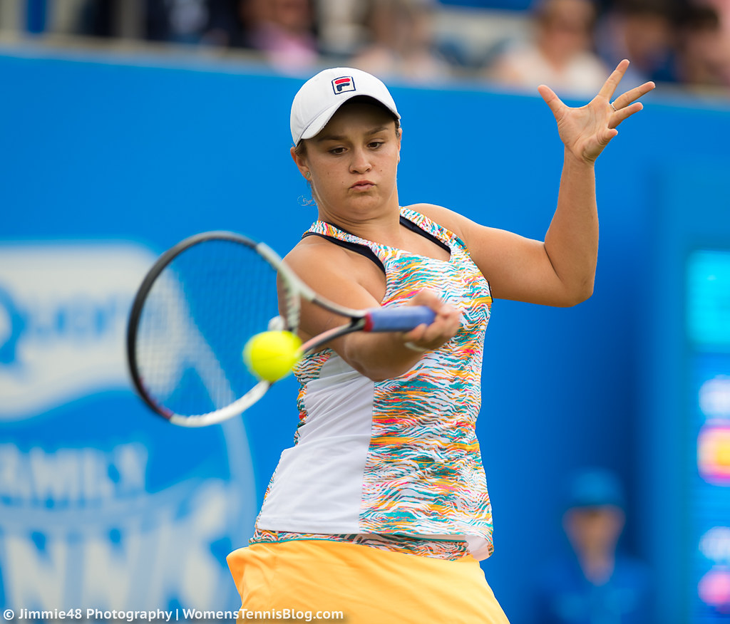 Ashleigh Barty: Photos From Birmingham: Kvitova & Barty To Face Off In
