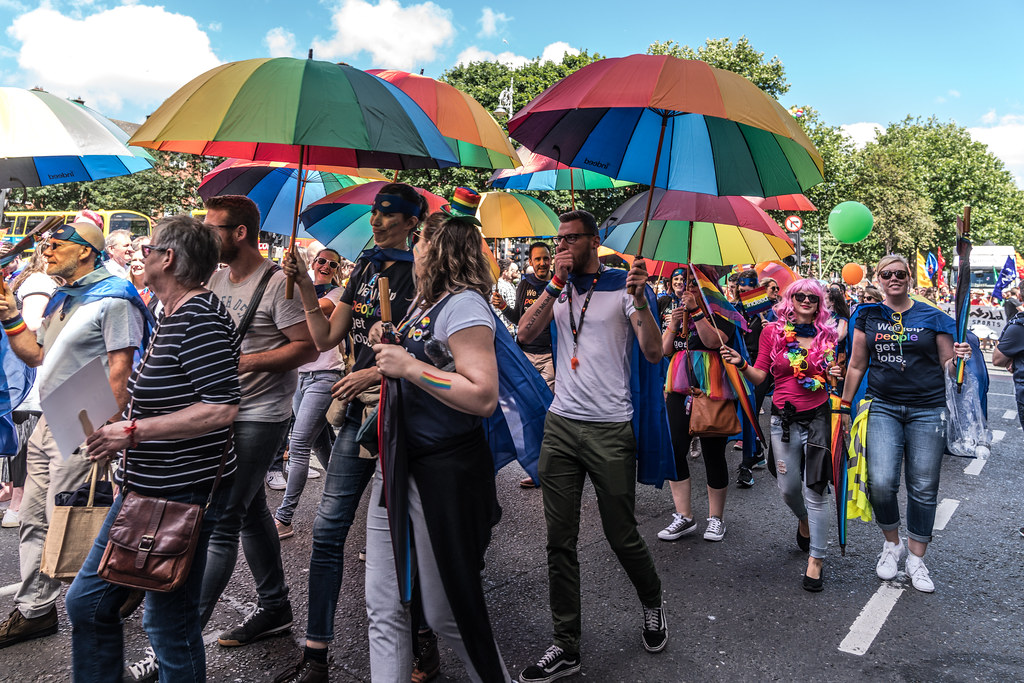 LGBTQ+ PRIDE PARADE 2017 [ON THE WAY FROM STEPHENS GREEN TO SMITHFIELD]-130002