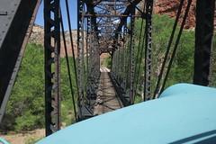 Perkinsville Bridge (Arrowhead Fan) Tags: verdecanyonrailroad arizona vcrr fp7 emd perkinsville