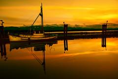 Sunset Bay (Chatham Sound) Tags: fish boats canada british columbia hornby island nikon d810