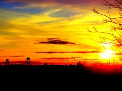 New York Sunset (dimaruss34) Tags: newyork brooklyn dmitriyfomenko image spring sky clouds sunset