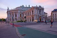 Vienna / Burgtheater / Sunset (Pantchoa) Tags: vienne vienna architecture findaprèsmidi théâtre nion d7200 18140 ring autriche burgtheater coucherdesoleil