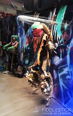 Création photo - Cosplay (Mayaneku) Tags: leagueoflegends ashe rengar king sejuani game team badass cute pop star