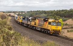 2017-03-22 Aurizon 6024-LDP001-6001 Murgheboluc 1PM1 (deanoj305) Tags: murgheboluc vic victoria australia au 1pm1 6024 ldp001 6001 intermodal container train
