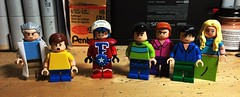 Arbitrary Custom Figs (LordAllo) Tags: lego custom figs random rick morty mister freedom mission hill andy kevin french jim kuback posey tyler