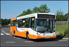 Travel de Courcey 560, Walsgrave (Jason 87030) Tags: man mcv evo evolution 560 2017 june sunny summer saturday uk orange mike traveldecourcey university hospital walsgrave midlands roadside sony alpha ilce nex a6000 shot color colour ae07dzp transport route service rugby