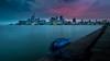 blushing Toronto (pchk422) Tags: toronto longexposure lake sunset exposureblending evening