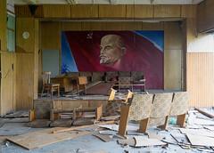 DSC08372 (I g o r ь) Tags: abandoned decay decayed rust urban forgotten lostplaces urbanexploration lenin ussr cccp sovietunion murals ленин communism sonya7 ilce7