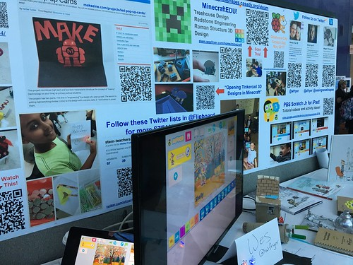 ISTE 2017 Poster Session: STEAM Studio! by Wesley Fryer, on Flickr